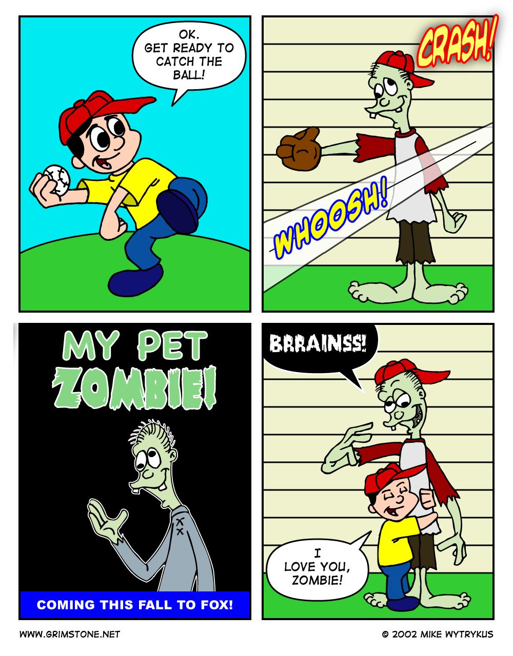 My Pet Zombie