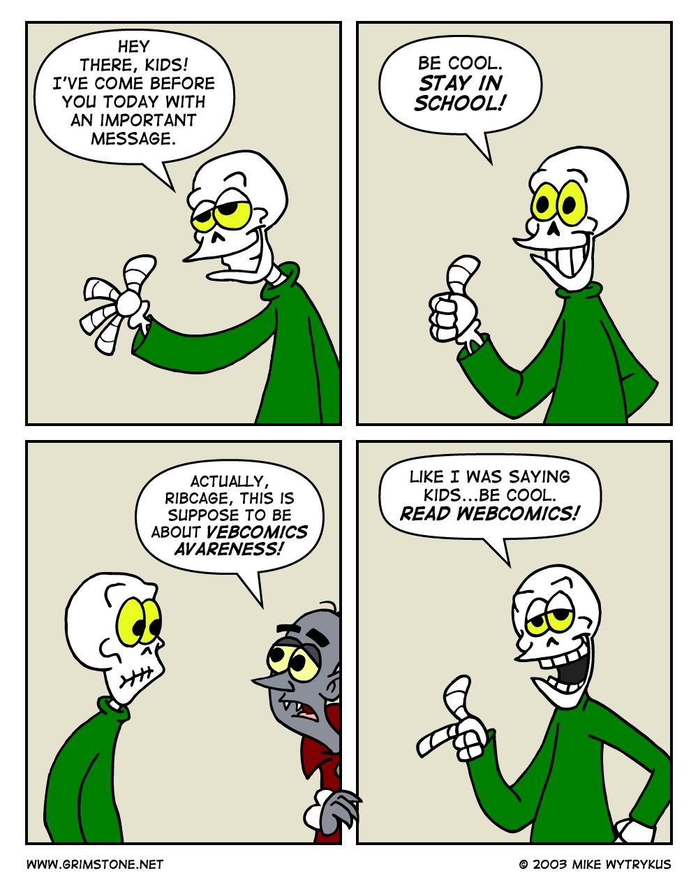 Webcomics Awareness