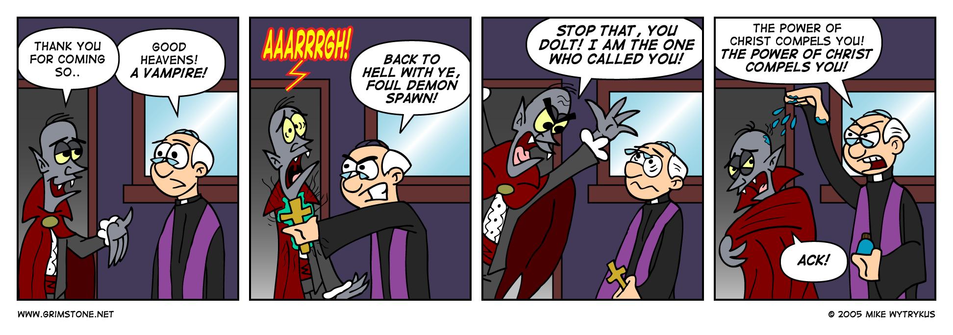 Vampire Versus Priest