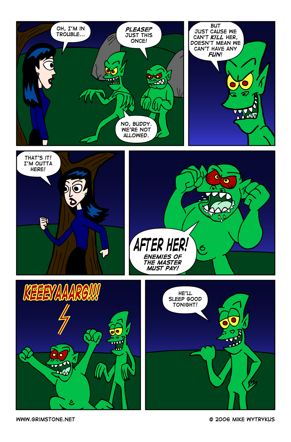 Dawn of the Morningstar » Page 12