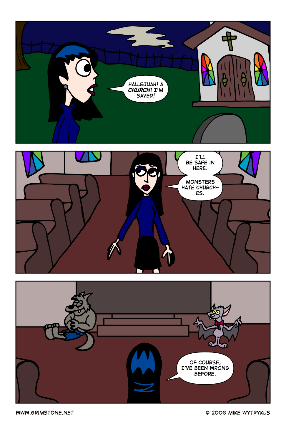 Dawn of the Morningstar » Page 18