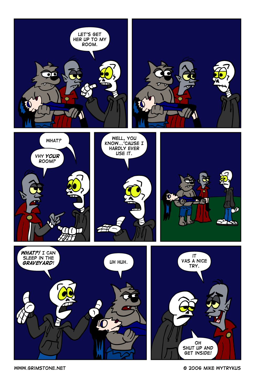 Dawn of the Morningstar » Page 24