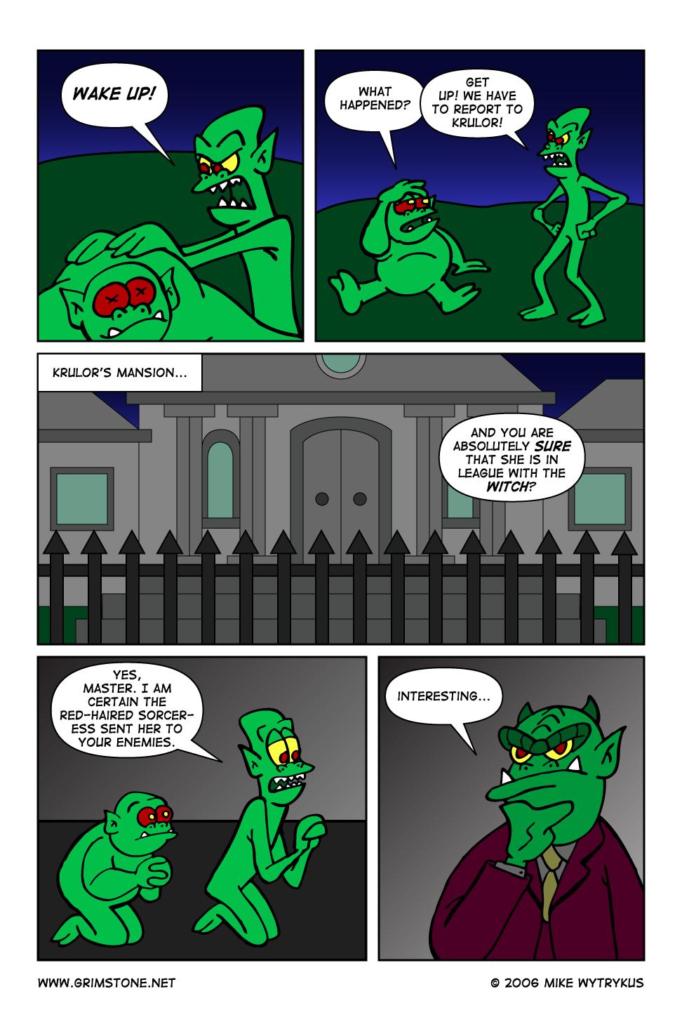 Dawn of the Morningstar » Page 34