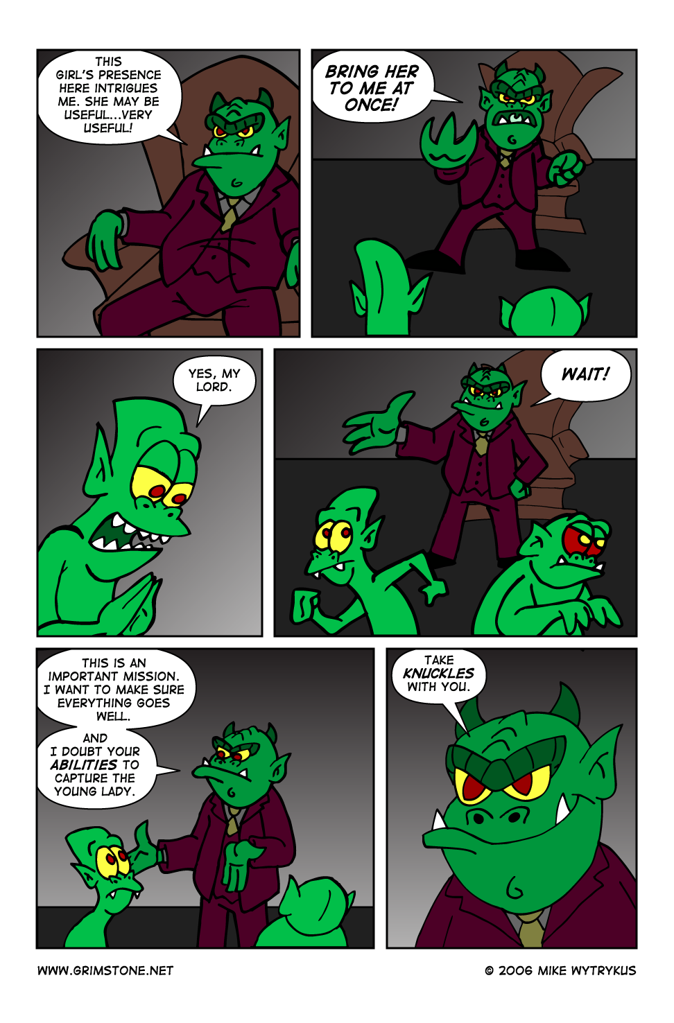 Dawn of the Morningstar » Page 35