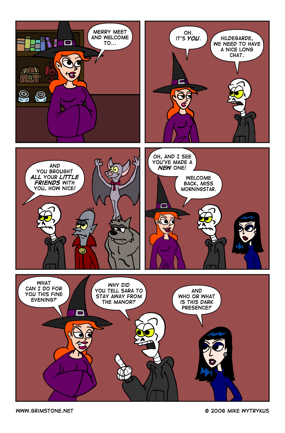 Dawn of the Morningstar » Page 37