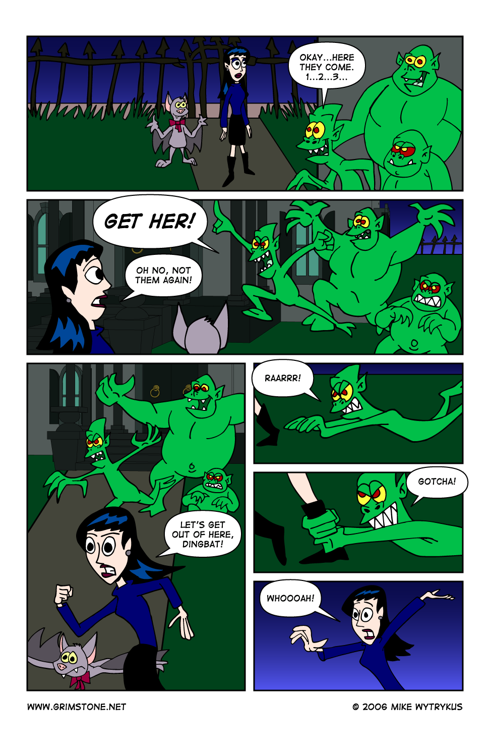 Dawn of the Morningstar » Page 45