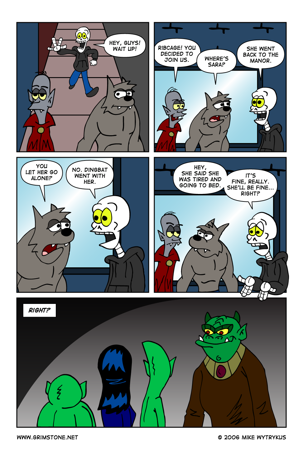 Dawn of the Morningstar » Page 49