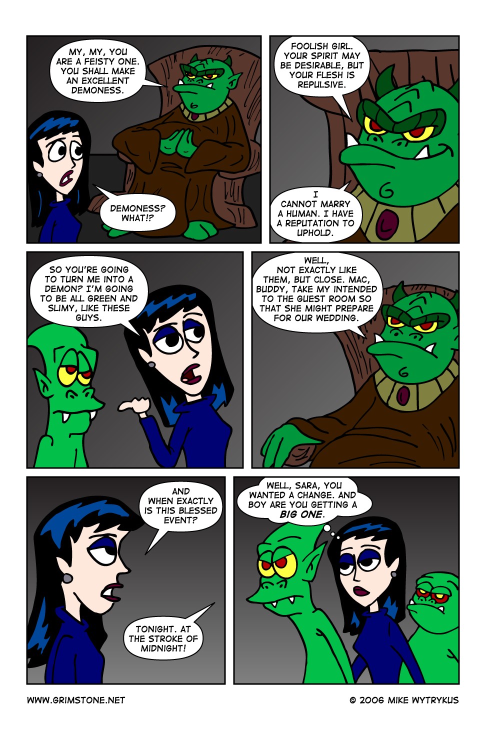 Dawn of the Morningstar » Page 51