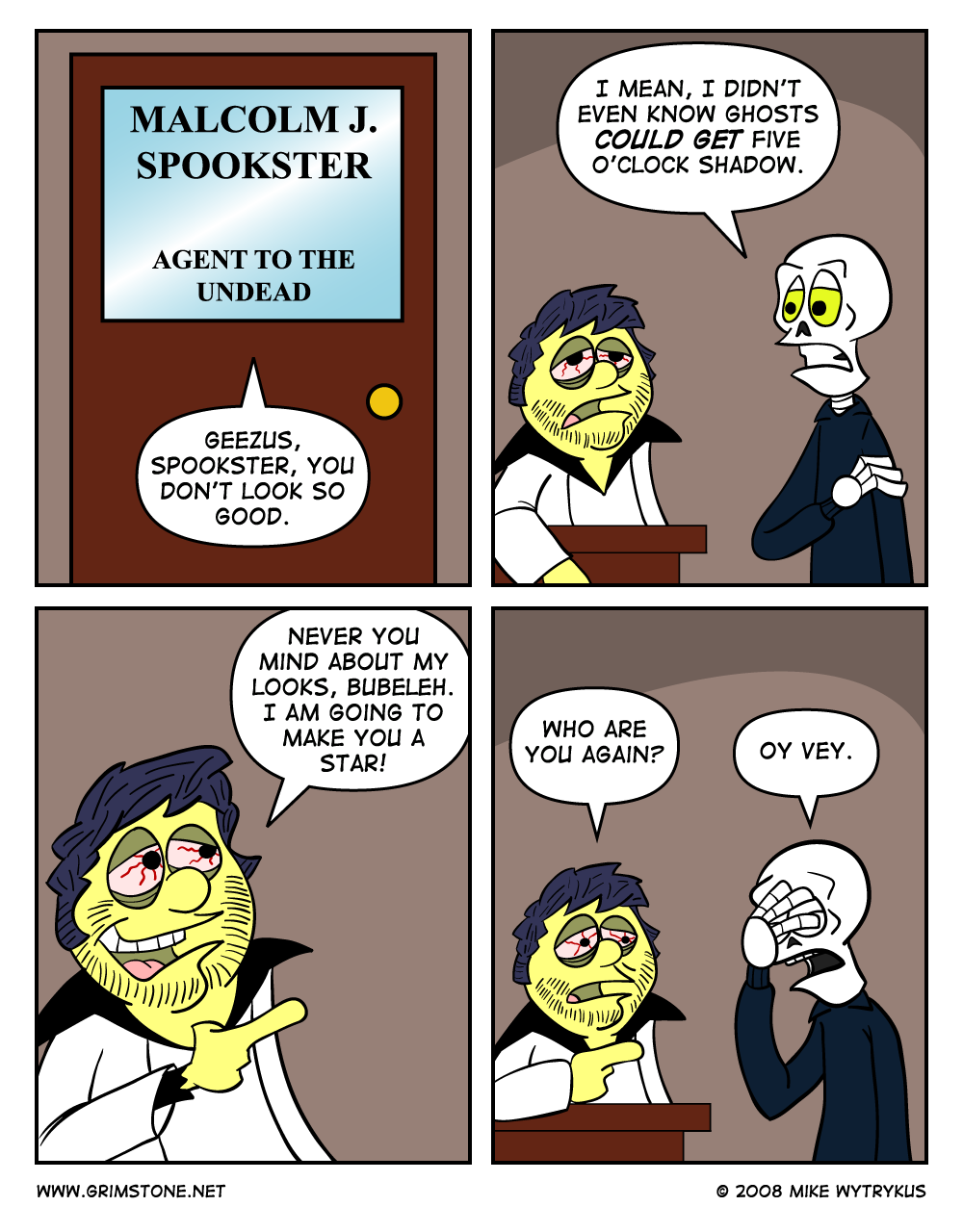 The Return of Malcolm Spookster