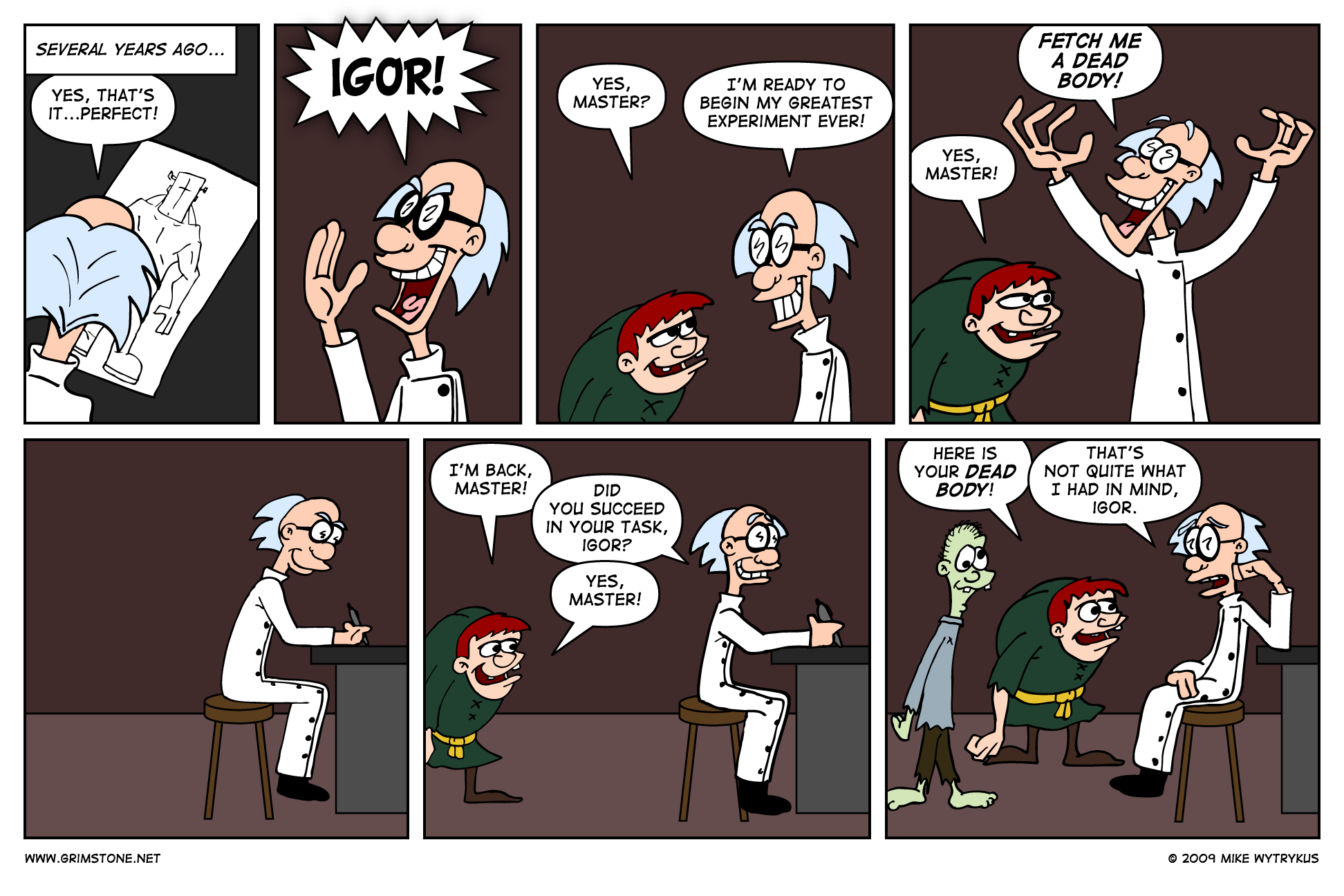Son of Frankenbeans » Page 1