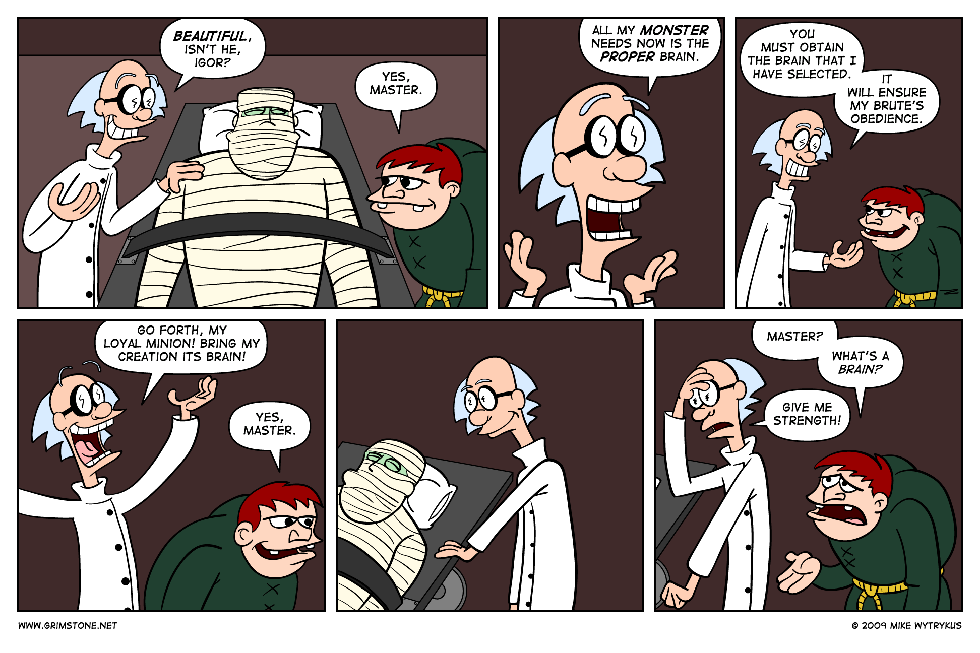 Son of Frankenbeans » Page 9