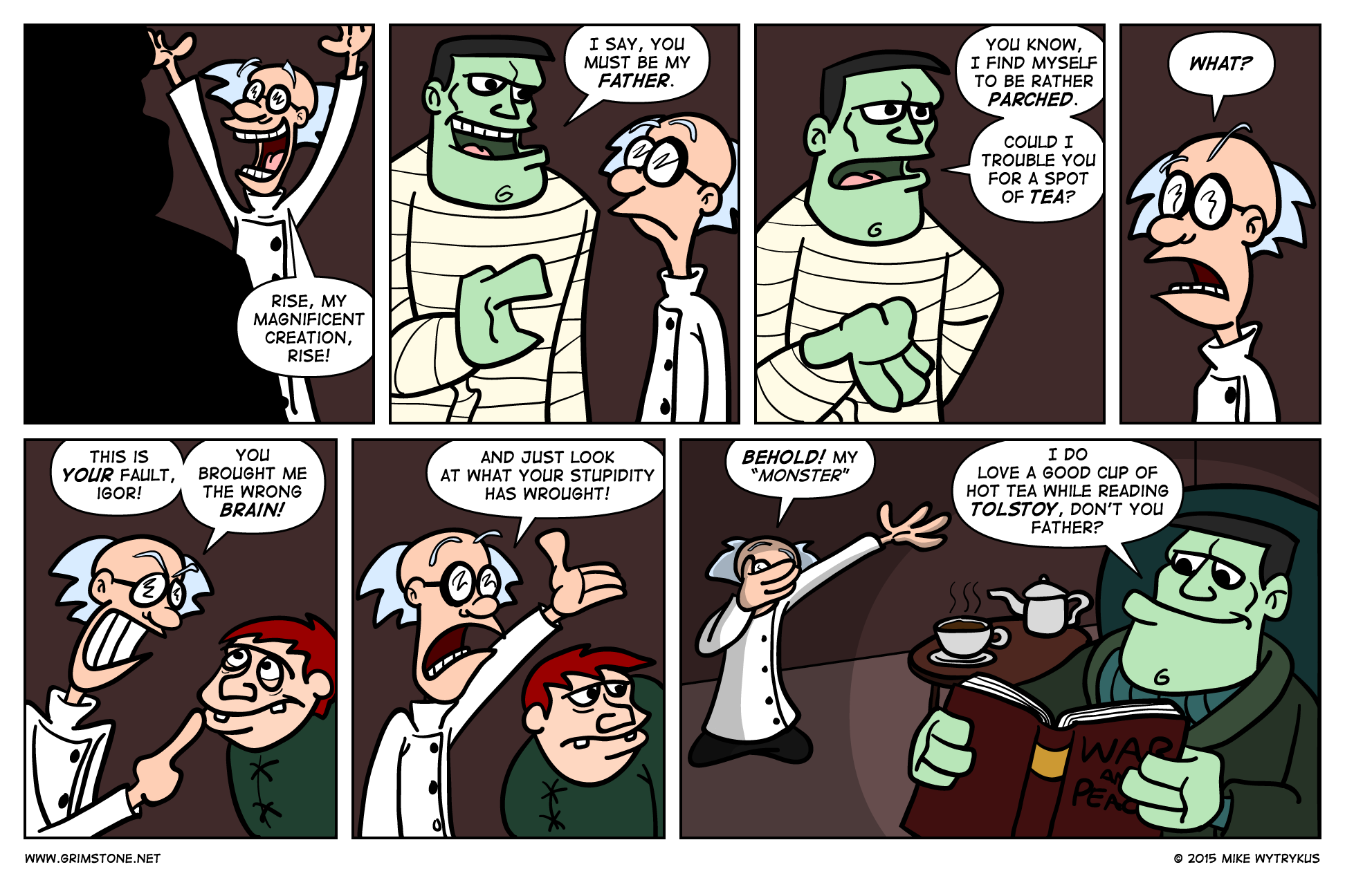 Son of Frankenbeans» Page 14