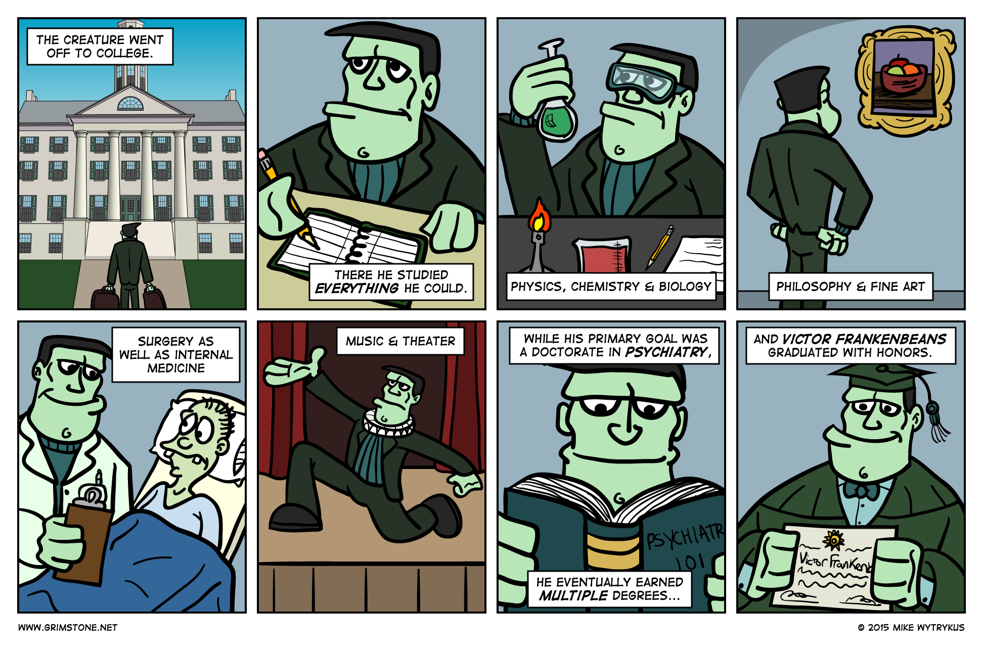 Son of Frankenbeans» Page 17