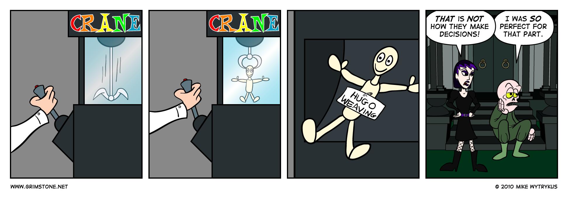 The Claw Has Chosen
